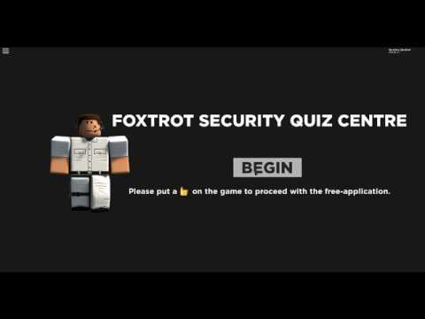 Soon Asylum Roleplay Roblox Foxtrot Asylum Roleplay Site Security Test Answers Youtube