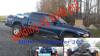 Building A Welding Rig Pt2 Miller Trailblazer 302