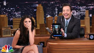 Dubsmash with Selena Gomez(Jimmy and Selena Gomez take turns recording videos using the app Dubsmash. Subscribe NOW to The Tonight Show Starring Jimmy Fallon: ..., 2015-10-15T11:00:01.000Z)