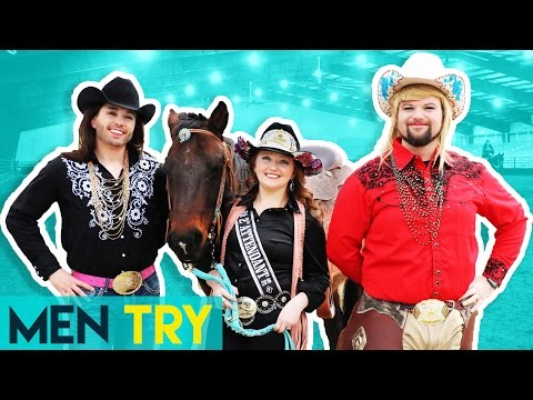 Men Try Being Rodeo Queens for a Day