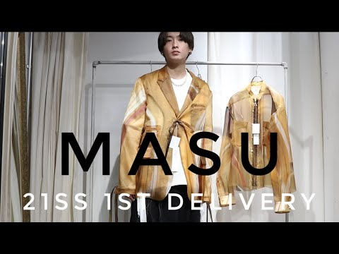 MASU 21SS 新作アイテムのご紹介