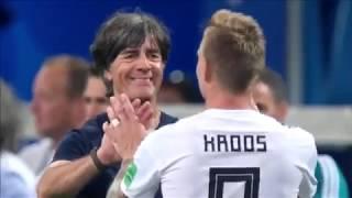 El gesto con el que Toni Kroos engañó al portero de Suecia 🎯