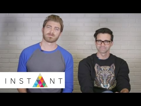 Rhett & Link Open Up Up About 'Rhett & Link's Buddy System' & More | Instant Exclusive | INSTANT