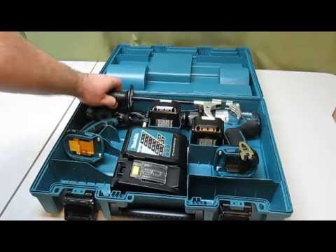 Makita 18-Volt LXT Lithium-Ion Brushless Cordless Combo Kit XPH07 , XDT08 from YouTube · Duration:  5 minutes 6 seconds