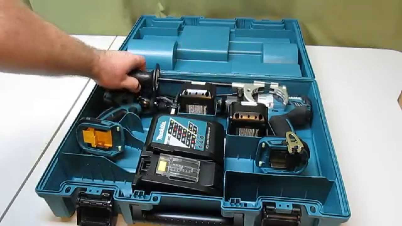 Makita 18 Volt Lxt Lithium Ion Brushless Cordless Combo