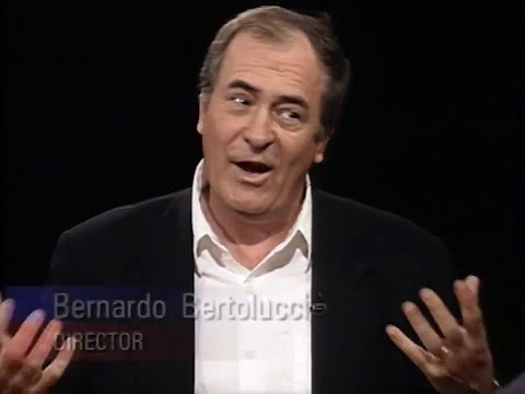Bernardo Bertolucci interview on Charlie Rose (1994)