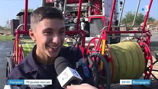 Hurigny : 70 jeunes sapeurs pompiers passent leur brevet