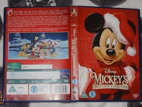 Mickey Mouse Twice Upon A Christmas Dvd.Start Of Disney S Mickey S Once Upon A Christmas Film 1999 Dvd Uk