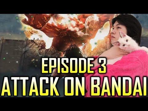 Attack On Bandai EP3 | OPTC Parodies EP 8 | One Piece Treasure Cruise