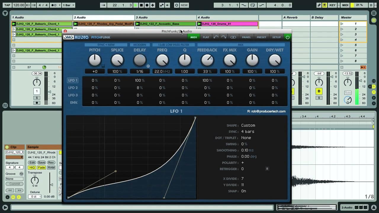 dmg audio pitchfunk