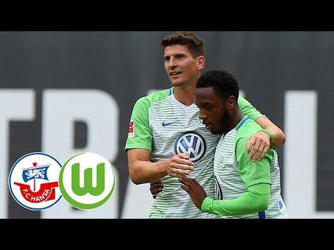 Highlights | FC Hansa Rostock - VfL Wolfsburg
