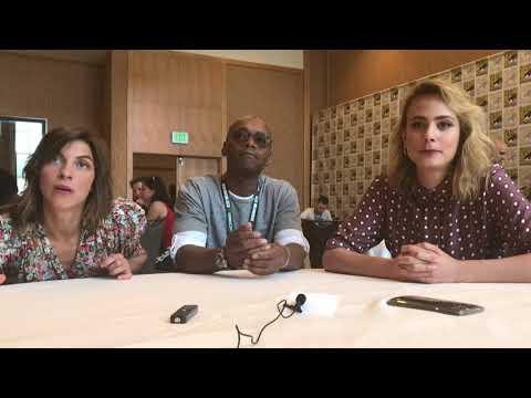 Origin  Natalia Tena, Fraser James, & Nora Arnezeder  SDCC 2018