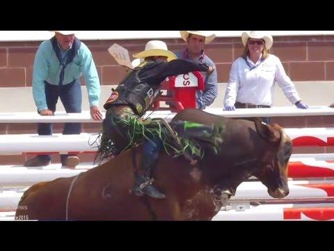 J.B Mauney wins bull riding on Day 5 ● Calgary Stampede 2015