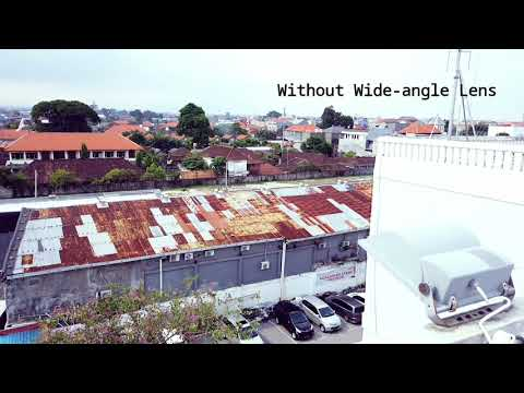 DJI Osmo Pocket Wide Angle Lens Test Indonesia