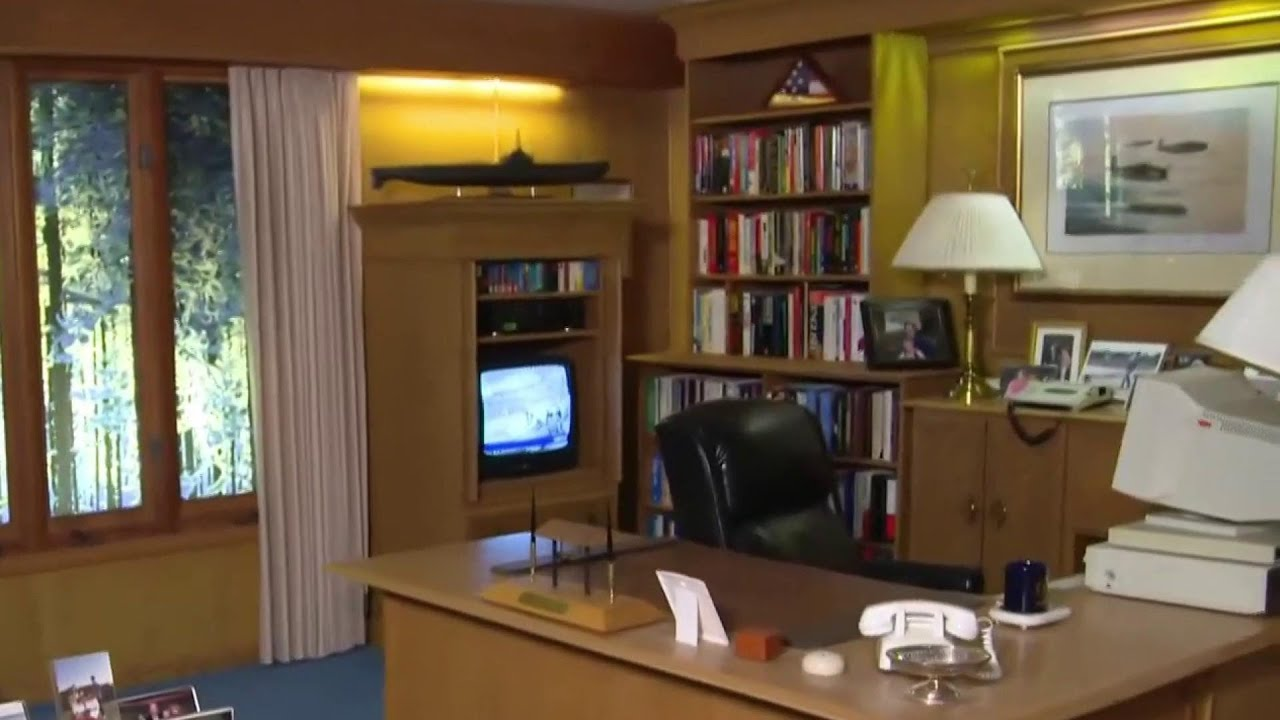 A Look Inside The George H W Bush Presidential Library Museum