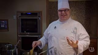 Potato Risotto—Demo by CIA Chef Robbie Tremblay '10