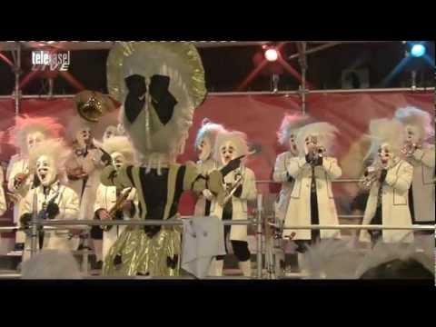 Grachsymphoniker - Basler Fasnacht 2012 - Auftritt auf dem Marktplatz - Guggemusik aus Basel