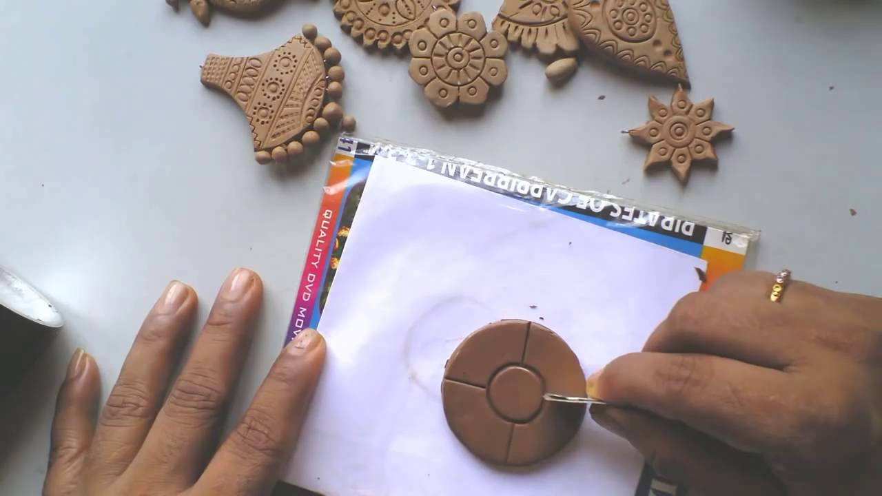 Terracotta Clay Jewellery Making Tutorial How To Make A