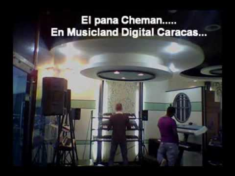 Echando vaina con Cheman en Musicland Digital...