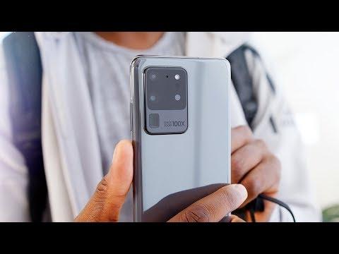 Samsung Galaxy S20 Ultra Impressions: 108 Megapixels!