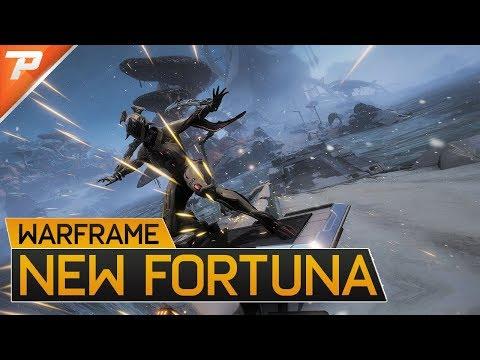 Warframe: New Fortuna Preview, Kitguns, Moa Pet, Fishing & K-Drives - 4K