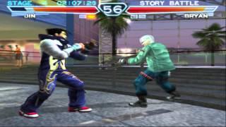 Tekken 4 Jin Kazama Playthrough