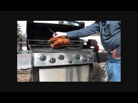 How To BBQ A Turkey On The Rotisserie