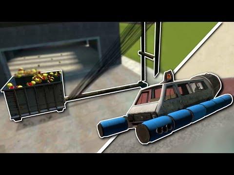 CATAPULT CHALLENGE! - Garrys Mod Sandbox Gameplay & Shenanigans
