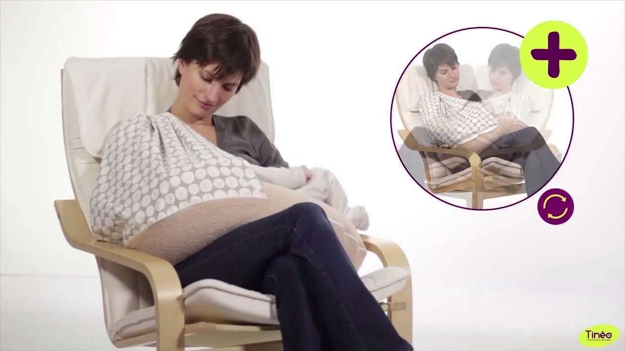 Coussin d 39 allaitement avec bandeau de discr tion youtube - Coussins pour fauteuil de jardin ...