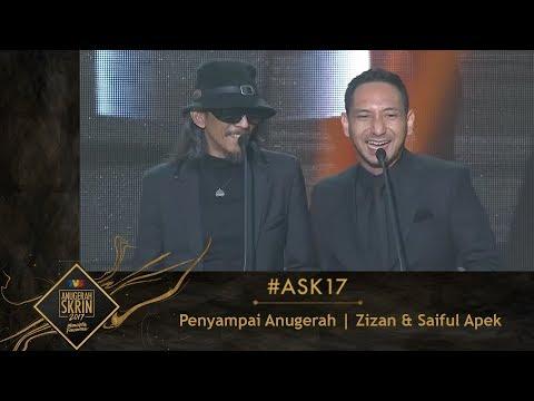 #ASK17 | Moment Zizan & Saiful Apek Penyampai Anugerah