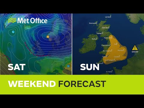 Weekend weather - Very cold air returns with snow for some