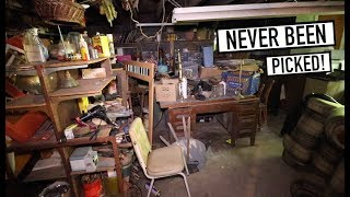 ANTIQUE SHOP UNTOUCHED FOR 10 YEARS - Parts Of Property Never Opened To Public UNTIL NOW!
