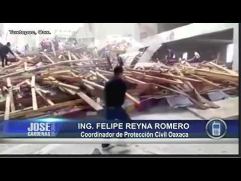 Felipe Reyna de Protección Civil Oaxaca