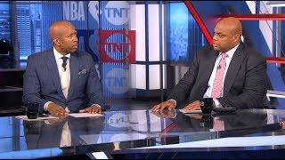 Inside the NBA - The crew  talks about Kristaps Porzingis trade to Mavericks