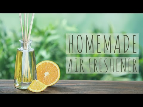 How To Make a Natural Air Freshener With Fruit Peels