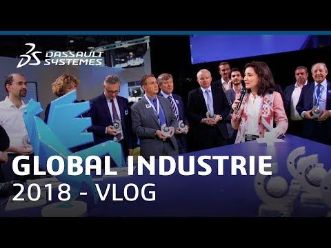 Vlog at Global Industrie 2018 - Dassault Systèmes