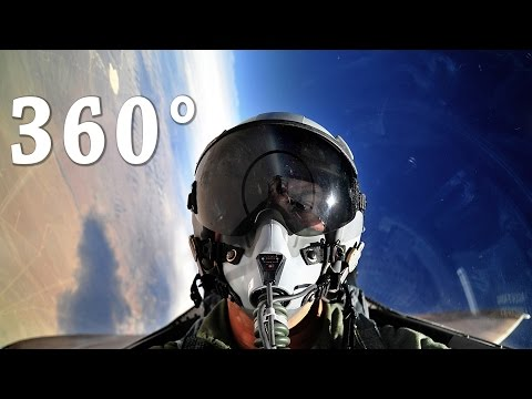 Amazing 360° Cockpit View – F-5 Fighter Jet & AH-1Z Viper Helicopter