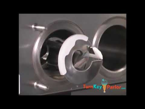 Taylor C713 Soft Serve Frozen Yogurt Machine | Assembly And Disassembly