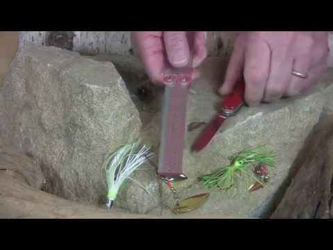 Video of Hook sharpening with Diafold® Hook & Knife Sharpener