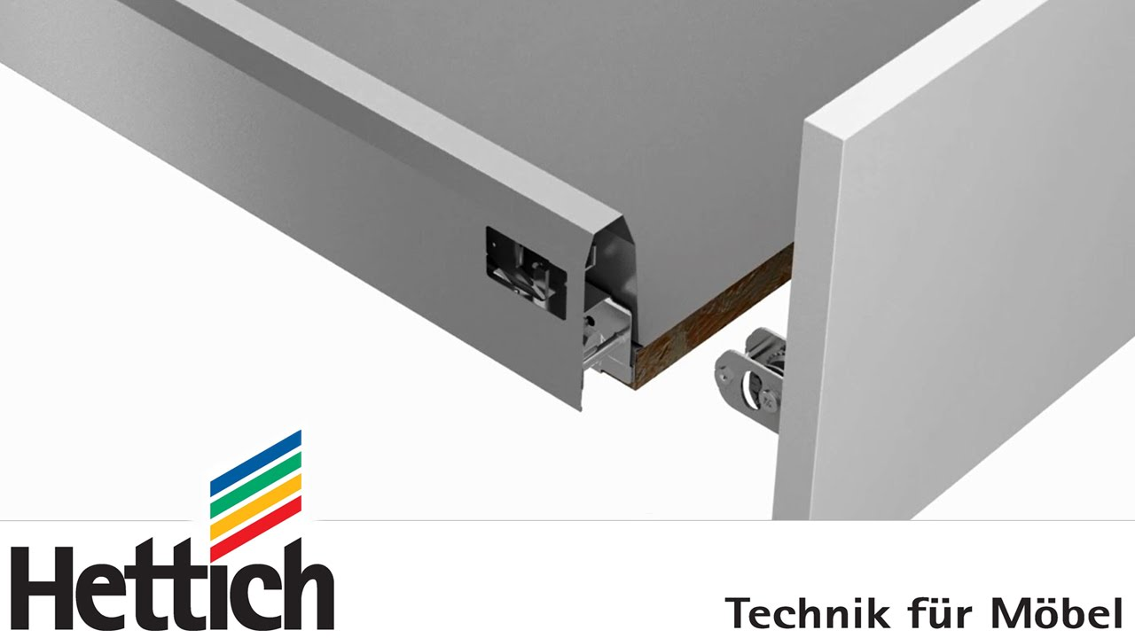 ArciTech drawer system assembly installation and