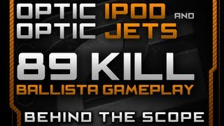 Behind The Scope - BO2 BALLISTA 89 kill Sniper Gameplay W/ iPod & Jets