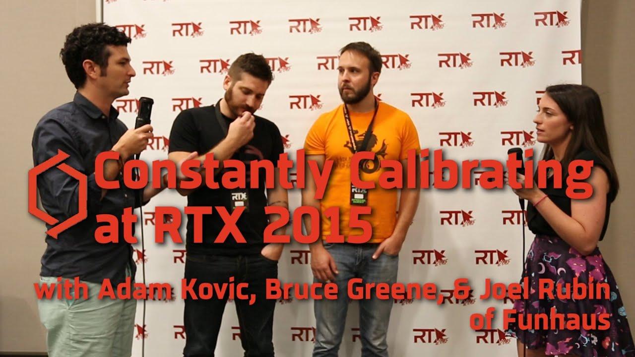 RTX 2015: Funhaus (Adam Kovic, Bruce Greene, Joel Rubin