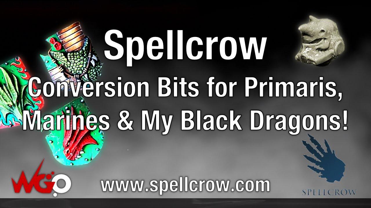 Spellcrow Conversion Bits ver.2 Salamander Dragons Knights Torsos