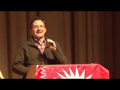 Donal O'Cofaigh speaking at Socialism 2019
