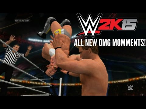WWE 2K15: All New OMG Moments! 1080p HD