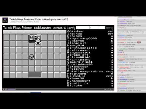 Twitch Plays Pokemon – The Final Battle with live chat