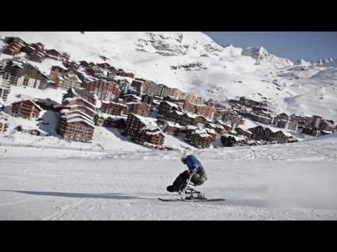 Handiski / Sit Skiing - Une Journée Avec Patrice Sulpice