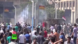 «Пятница гнева» в Египте: десятки погибших(По всему Египту продолжаются столкновения между противниками и сторонниками низложенного президента..., 2013-08-16T16:39:17.000Z)