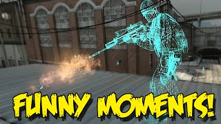 CS:GO FUNNY MOMENTS - DAY IN THE LIFE OF A HACKER , SILVER PLAYS, EPIC TROLL (Funny moments)