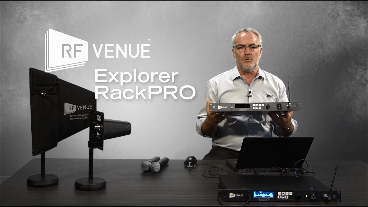 Jands Presents: Using RF Venue frequency scans with Shure Wireless Workbench